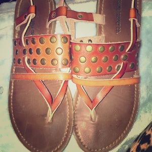 Leather sandals 5 1/2